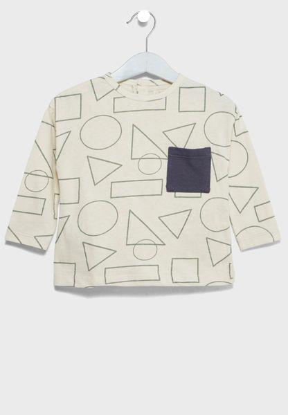 Infant Geometric Print T-Shirt