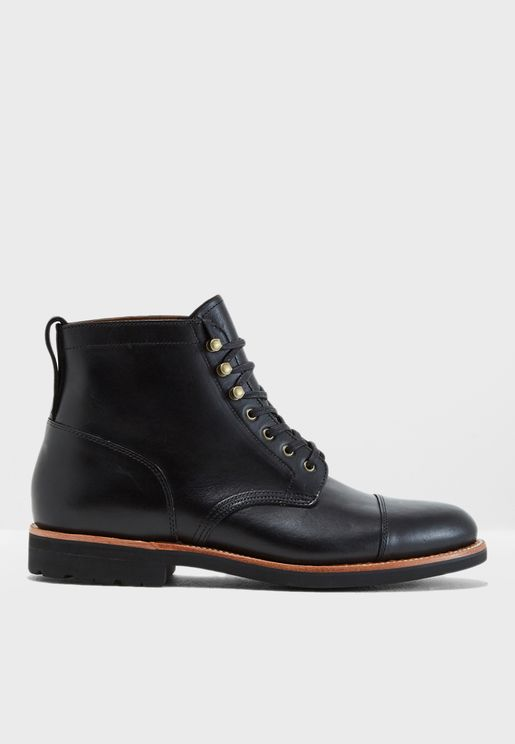 Kenton Cap Toe Boot