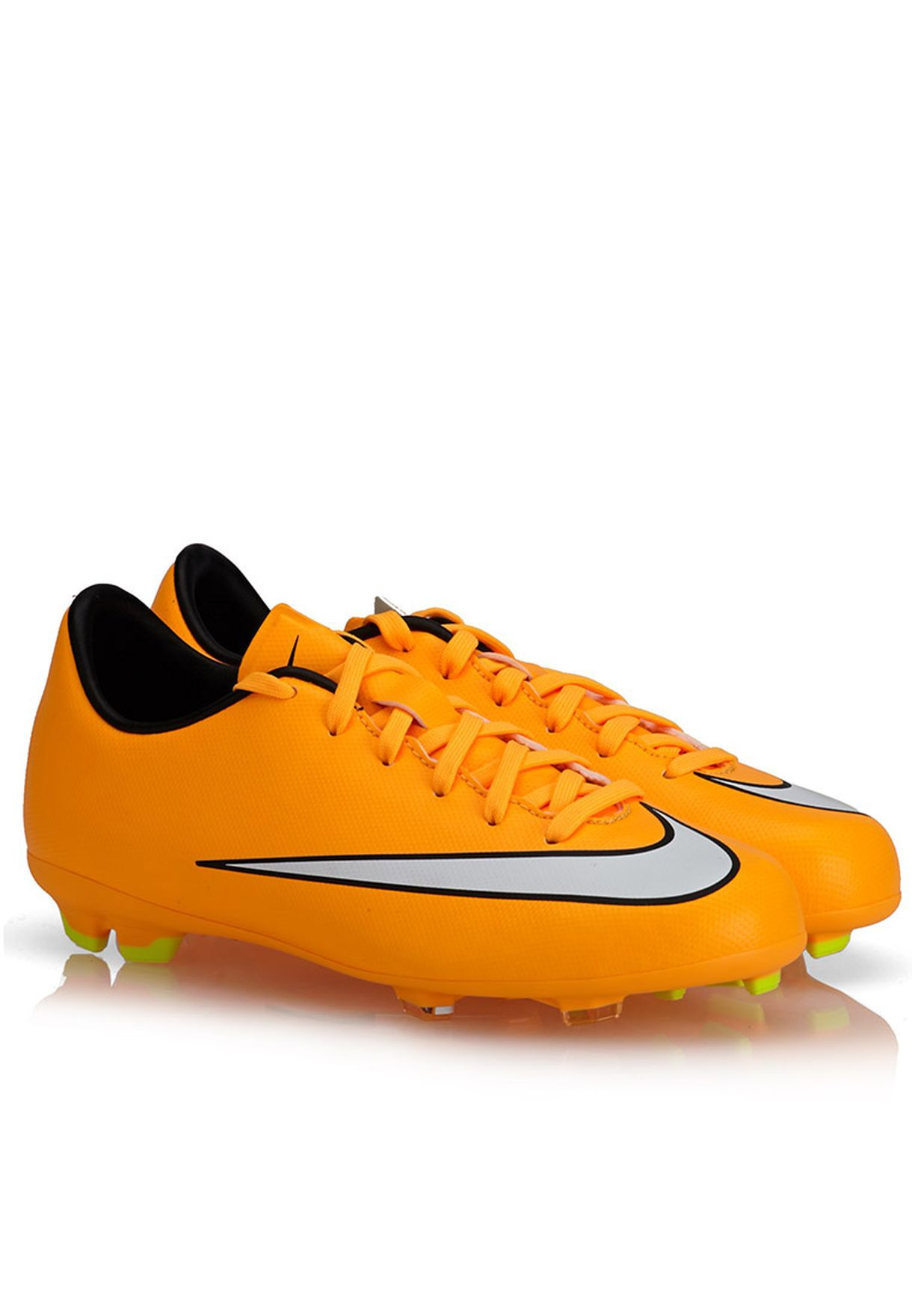 6a26c098264 Shop Nike yellow Mercurial Victory FG 651634-800 for Kids in UAE ...
