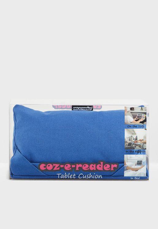 Navy Tablet Cushion