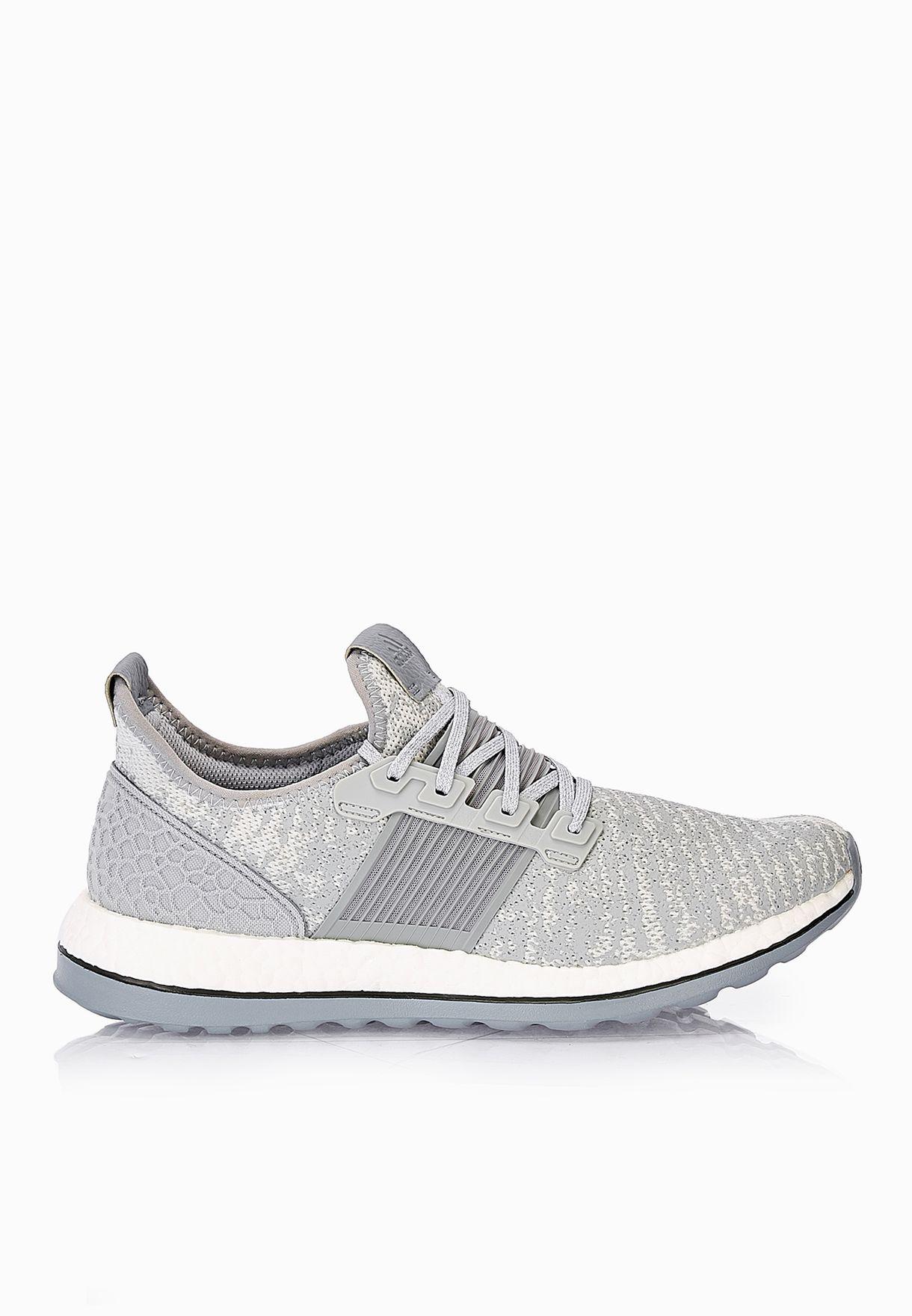 ce3a8ca1330d8 Shop adidas grey Pureboost ZG M AQ6768 for Men in UAE - AD476SH82UAN