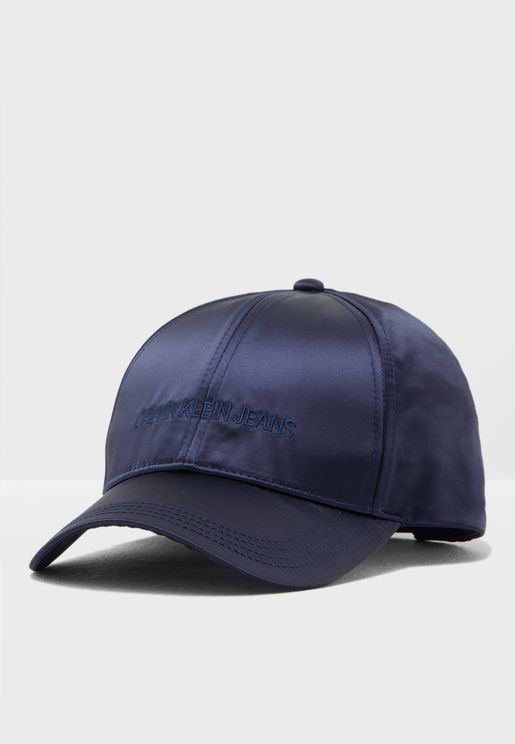 Satin Curved Peak Cap