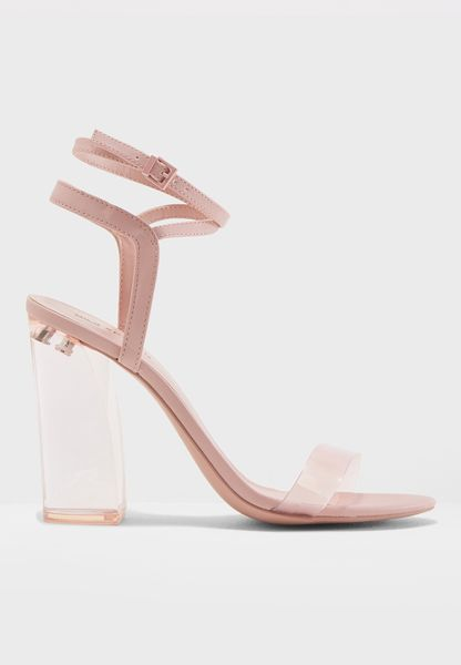 Novelty Block Heel Sandal