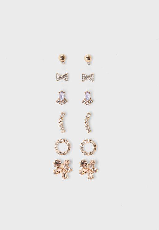 Afiredda Earrings Multipack