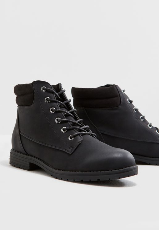 Earled Ankle Boot