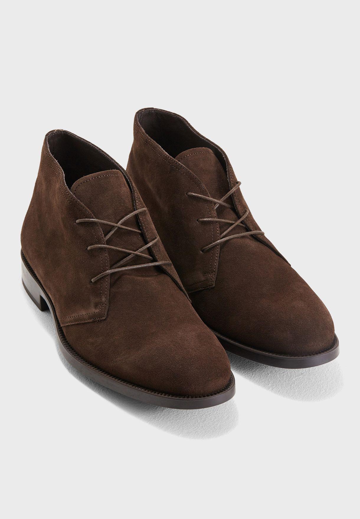 Kurt Geiger London brown Balfour Boots