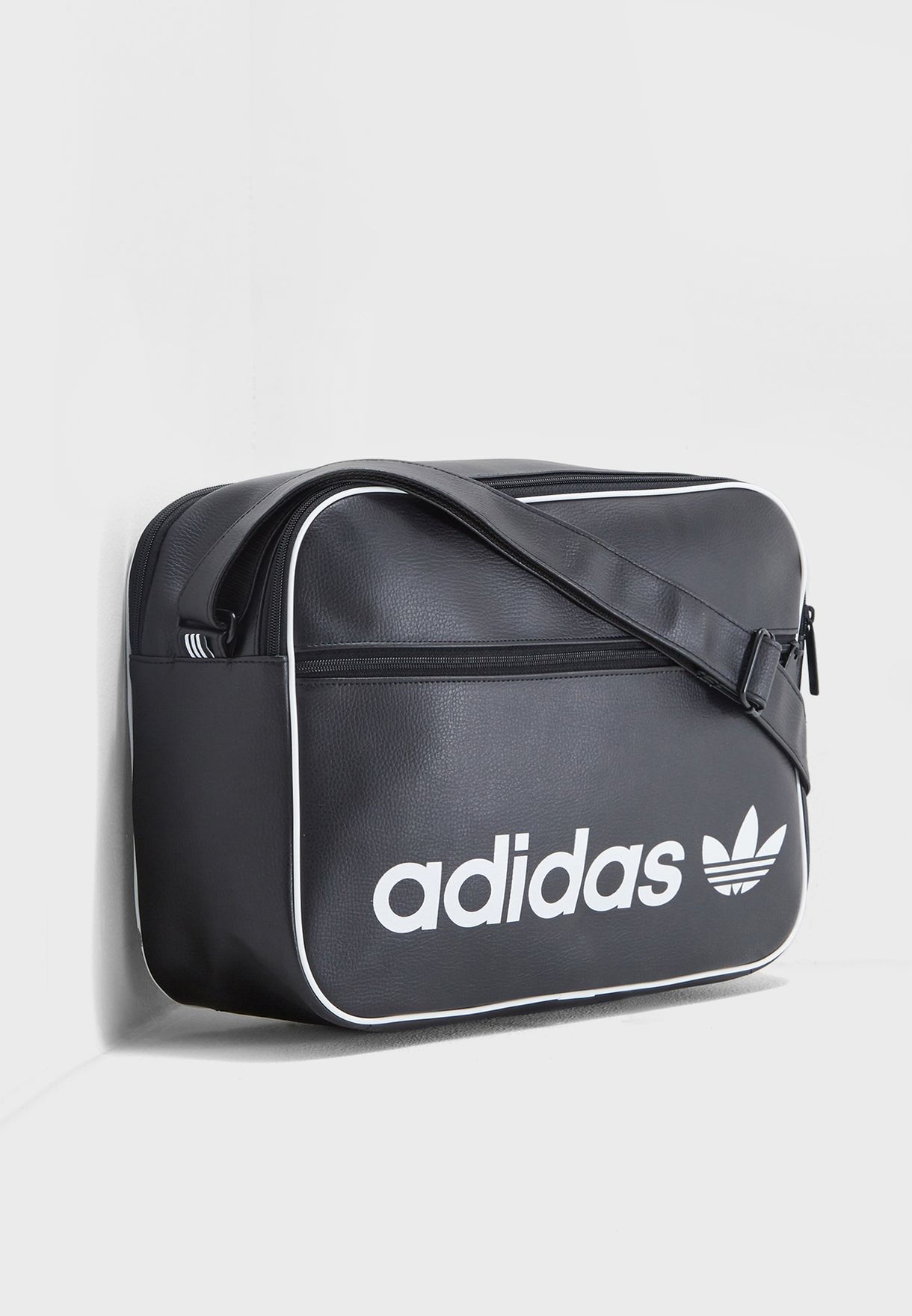 3e52e231a5bf Shop adidas Originals black Airliner Vintage Messenger DH1002 for Men in  Saudi - AD478AC82DUV