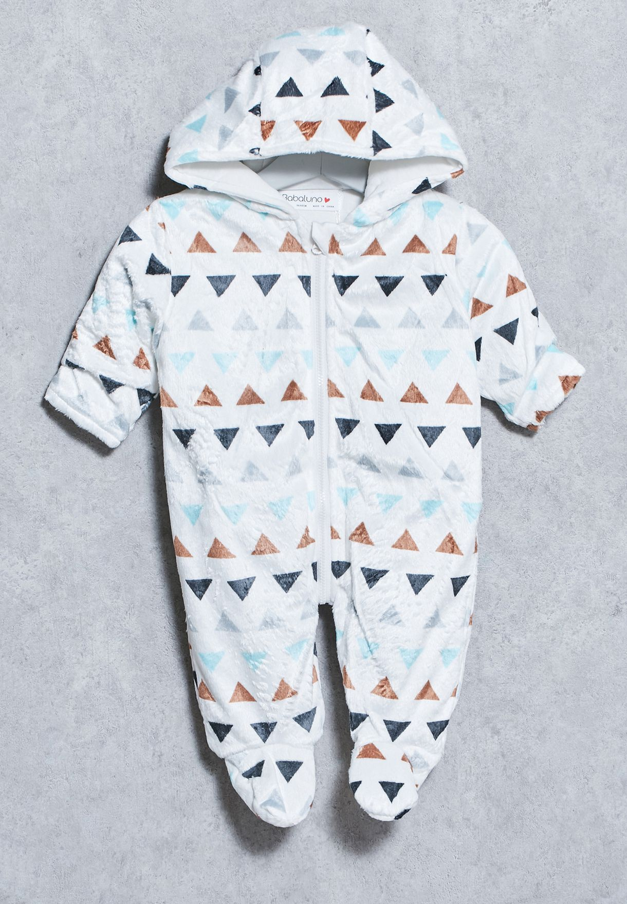 486220b9b Shop Minoti white Infant Snow Suit for Kids in Kuwait - MI943AT82OUV
