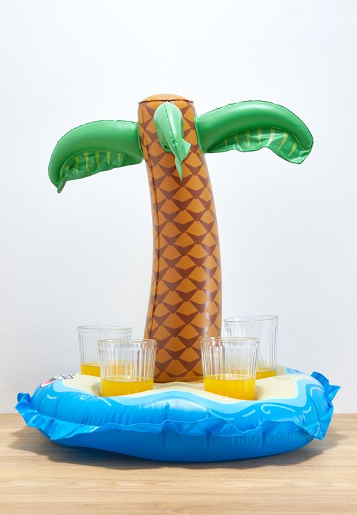 Palm Tree 5 Cup Beverage Float