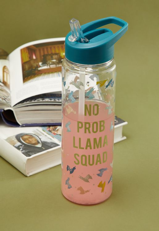 Tall Llama Water Bottle