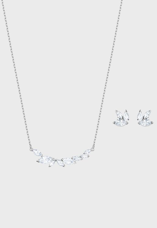 Louison Necklace+Earrings Set