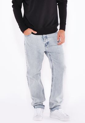 Cheap monday Relaxed Fit Light Wash Jeans