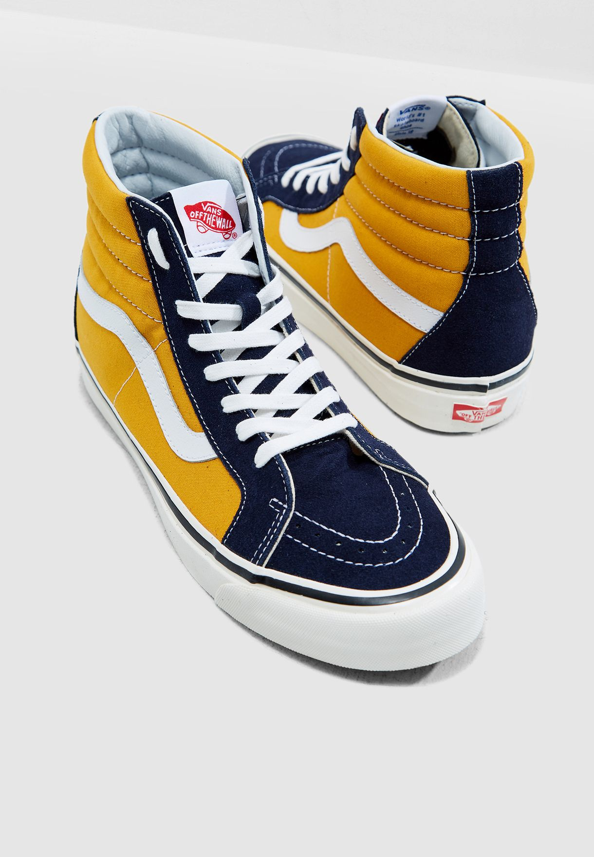 3480f3d7f7c5ec Shop Vans navy Anaheim Factory SK8-Hi 38 DX 8GFUBT for Men in Qatar -  VA088SH82ATX