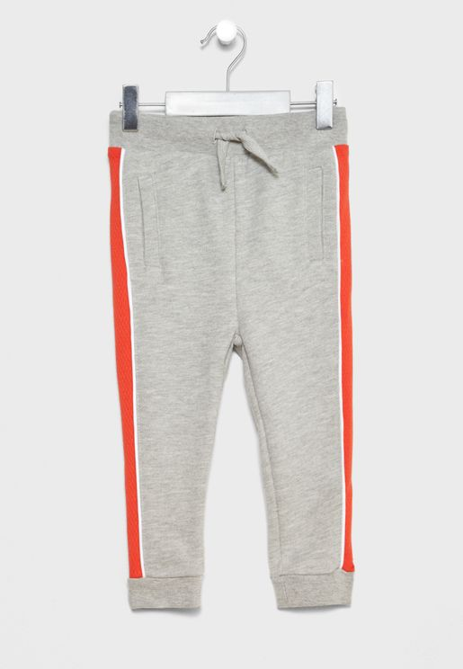 Infant Side Stripe Sweatpants