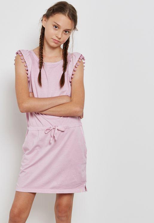 Teen Frill Detail Dress