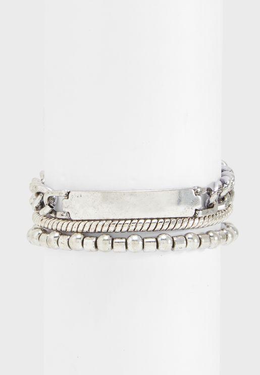 Multipack Of Metalix Bracelets