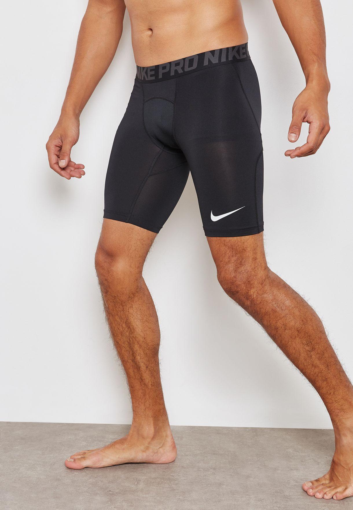 350f701610e Shop Nike black Pro Compression Shorts 838061-010 for Men in UAE ...