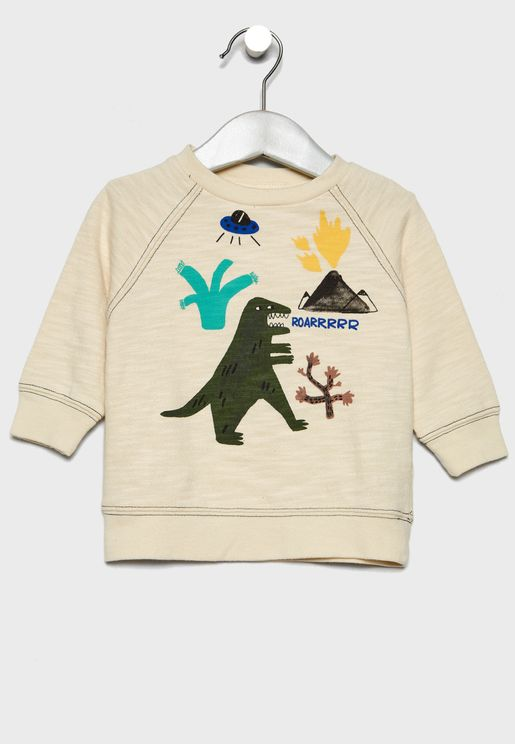 Infant Dino Sweatshirt