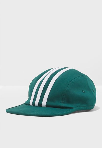 3 Stripe 4 Panel Cap