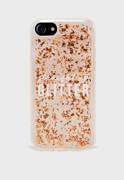 Straight Up Glitter Phone Case - Hybrid