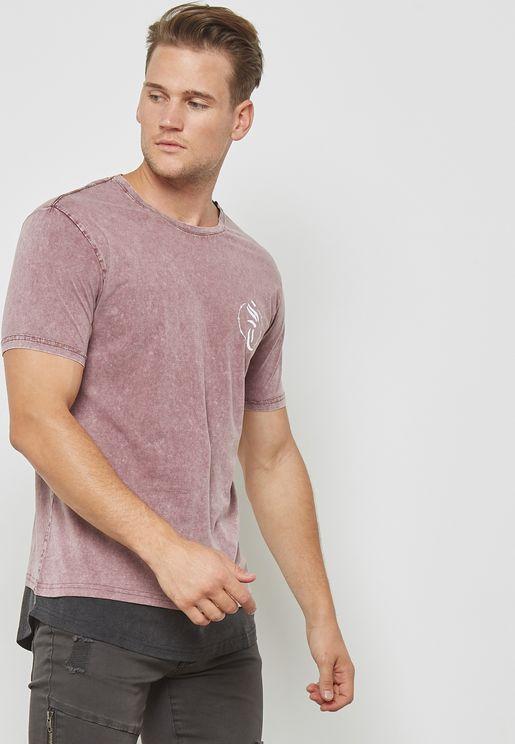Chadwick Back Print  T-Shirt