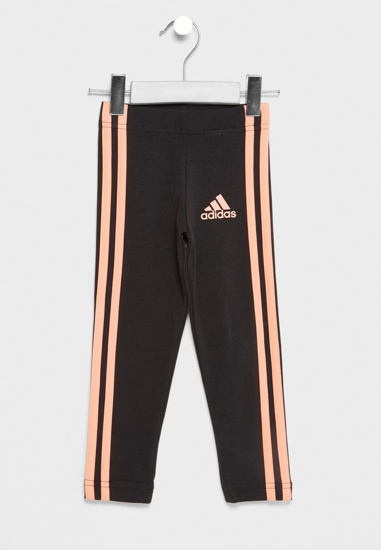 Shop adidas black Kids 3 Striped Tights CF6616 for Kids in Kuwait -  AD476AT72ESL fc01ea72ae