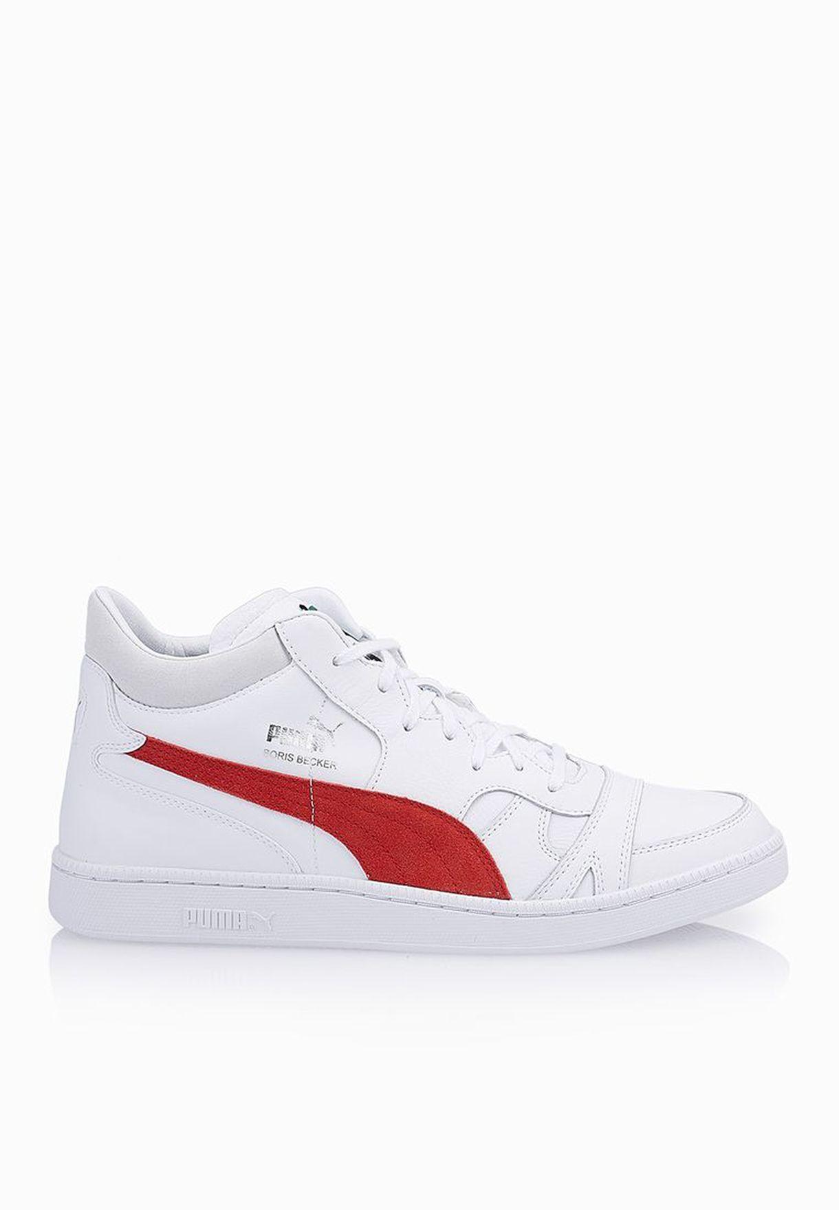 5dca188ae422 Shop PUMA white Becker Mid 35889503 for Men in UAE - PU020SH72JQT