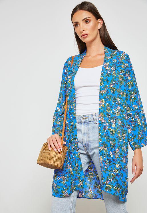 Long Line Kimono