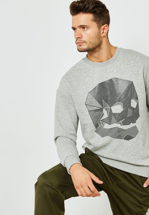 Dene Skull Sweatshirt