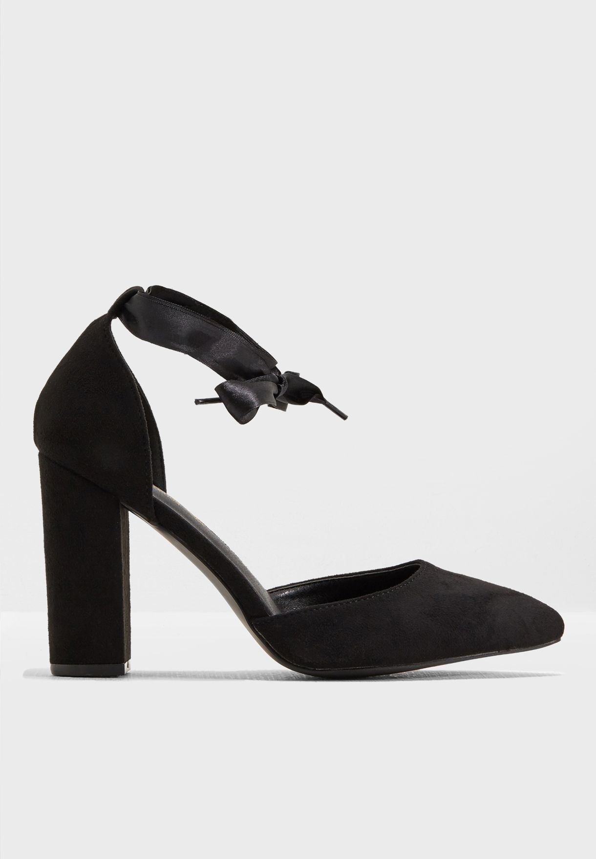 ece245c36 تسوق حذاء عريض بكعب سميك ماركة ترافيل لون أسود WFVICKY1 (WIDE FIT ...