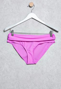 Ruched Side Bikini Bottom