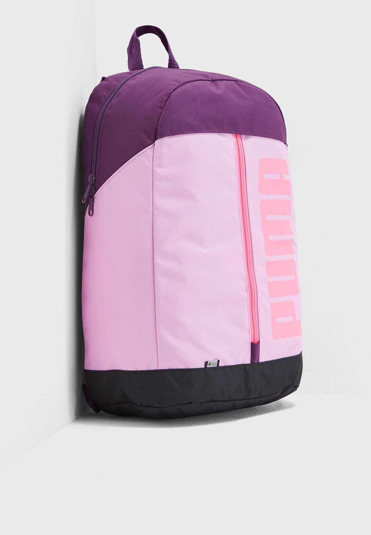 2564c07e07b Shop PUMA purple Pioneer Backpack 7510307 for Women in UAE ...