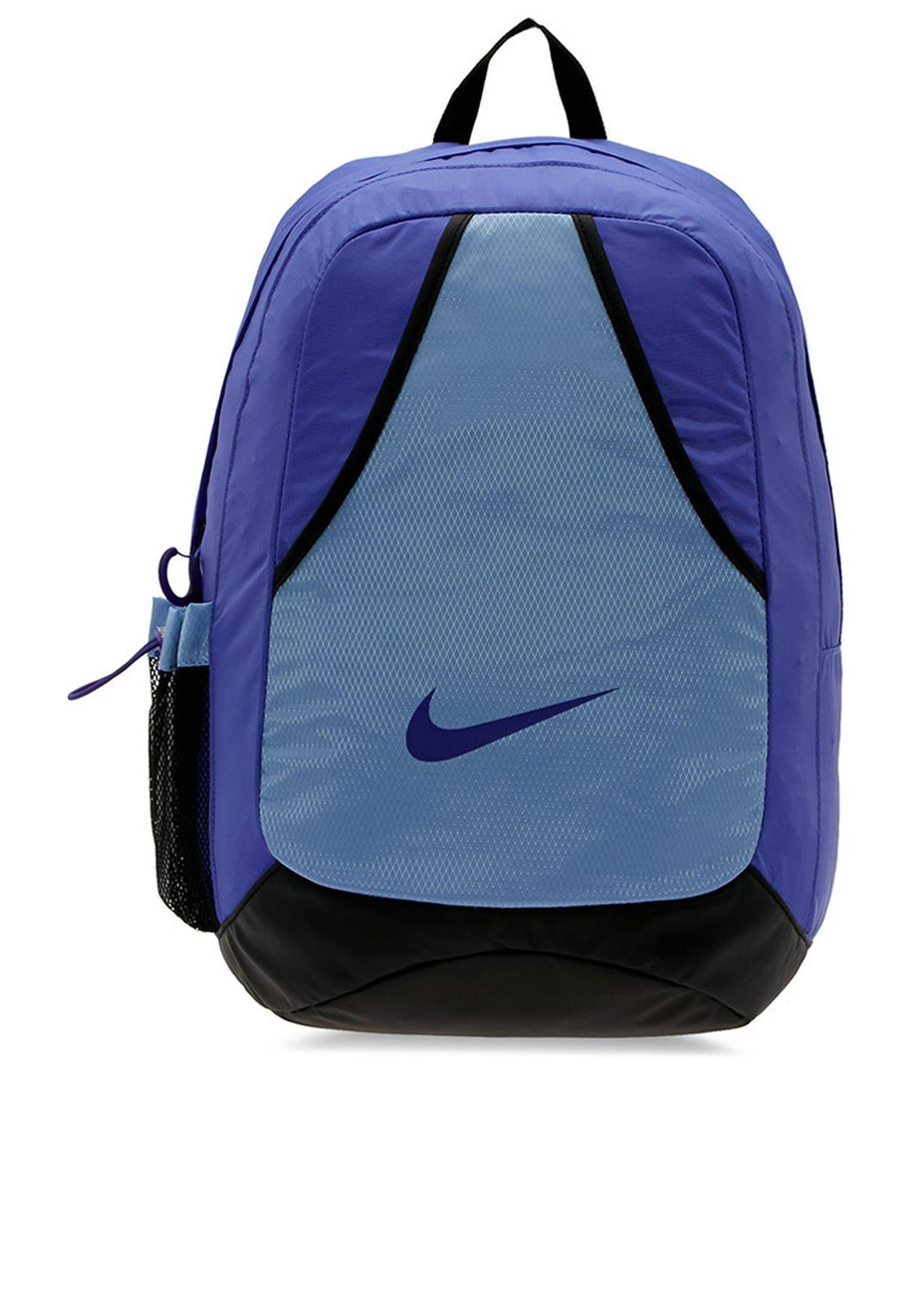 d9bf1337a37 Shop Nike blue Varsity Backpack NEQP-BA3351-564 for Women in Oman -  NI727AC72IHJ