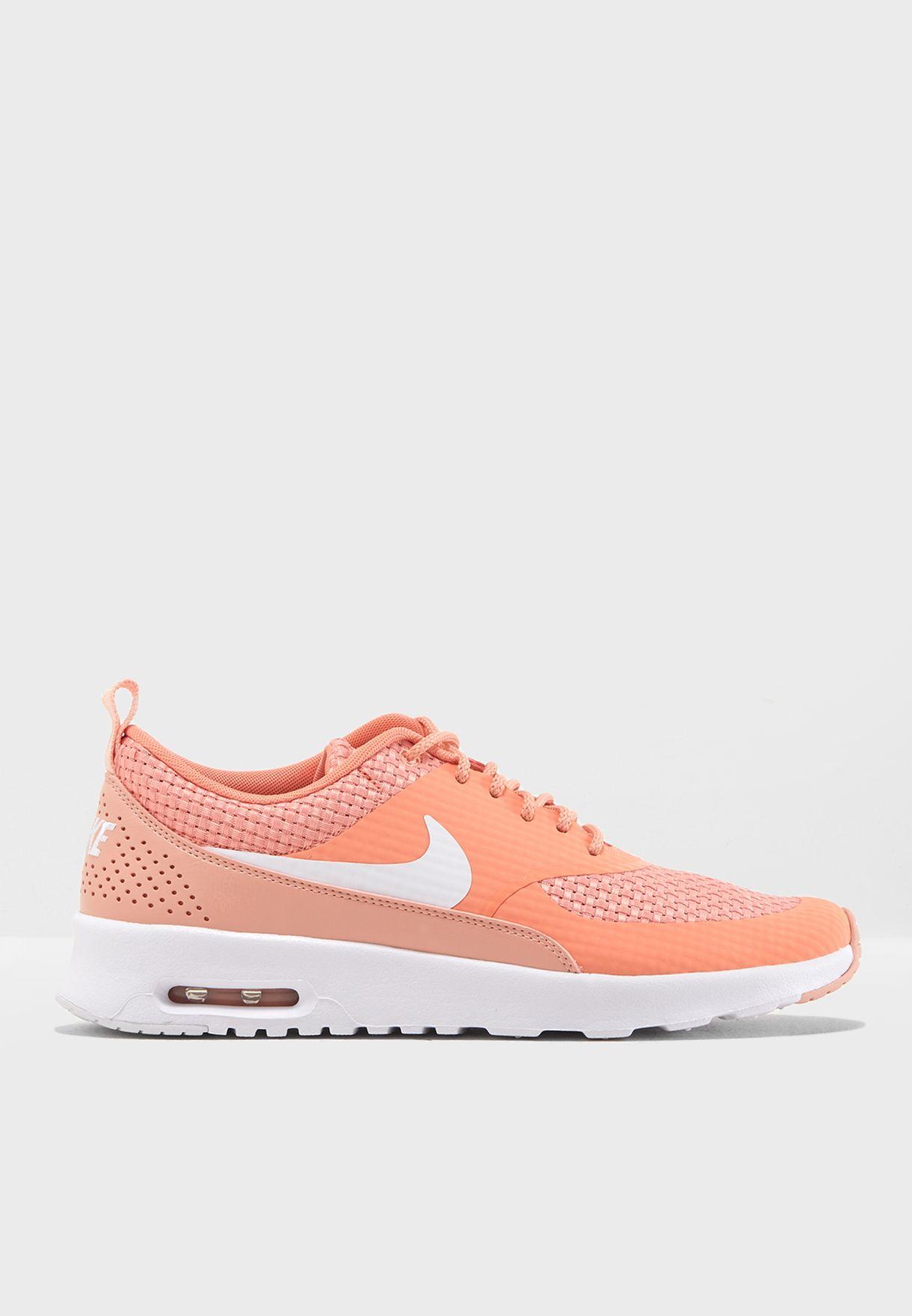 16338415795c Shop Nike pink Air Max Thea Premium 616723-605 for Women in Saudi ...