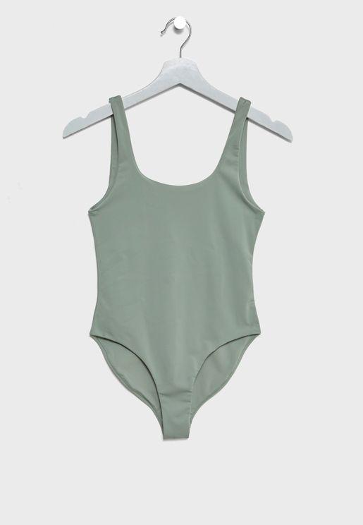 Open Back Swimsuit