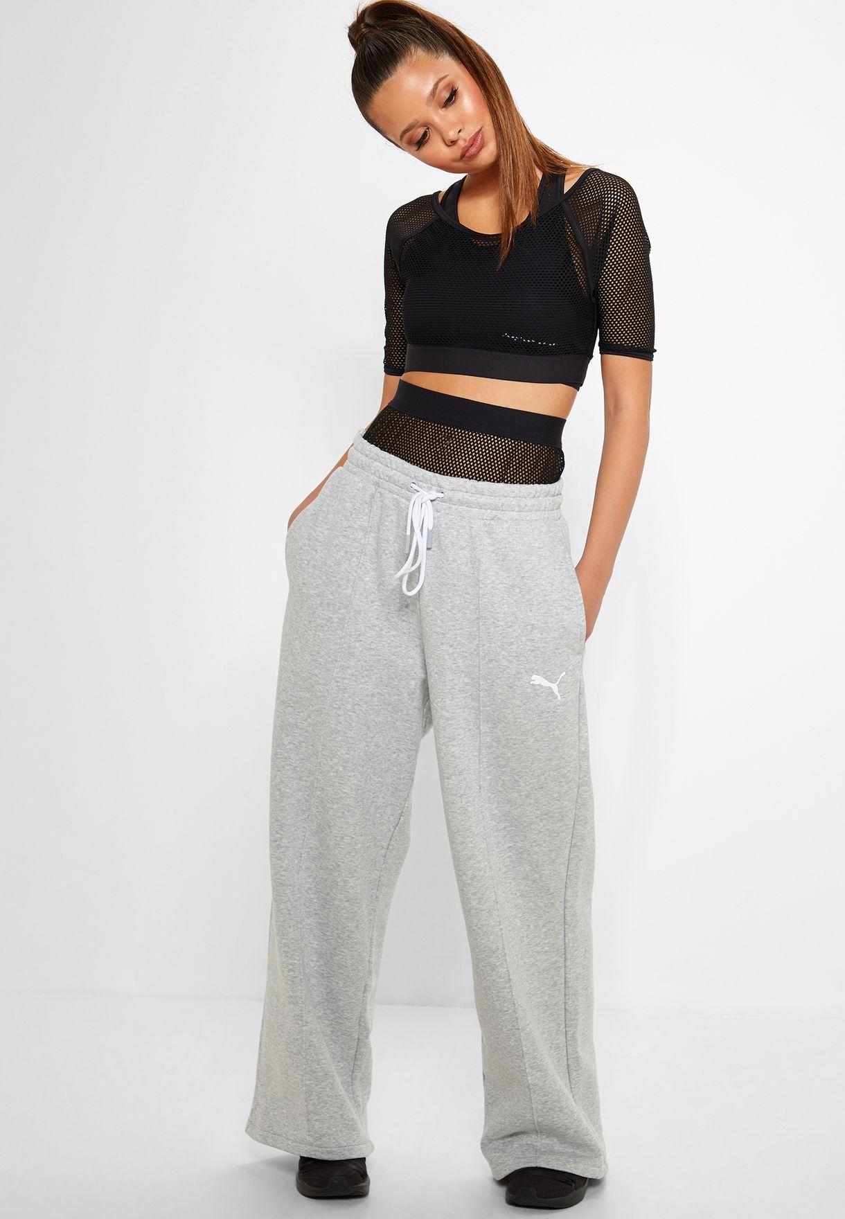 fb14aea3ad47 Shop PUMA grey Selena Gomez Sweatpants 51780101 for Women in Bahrain ...