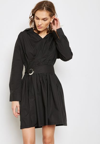 Ring Belted Dress