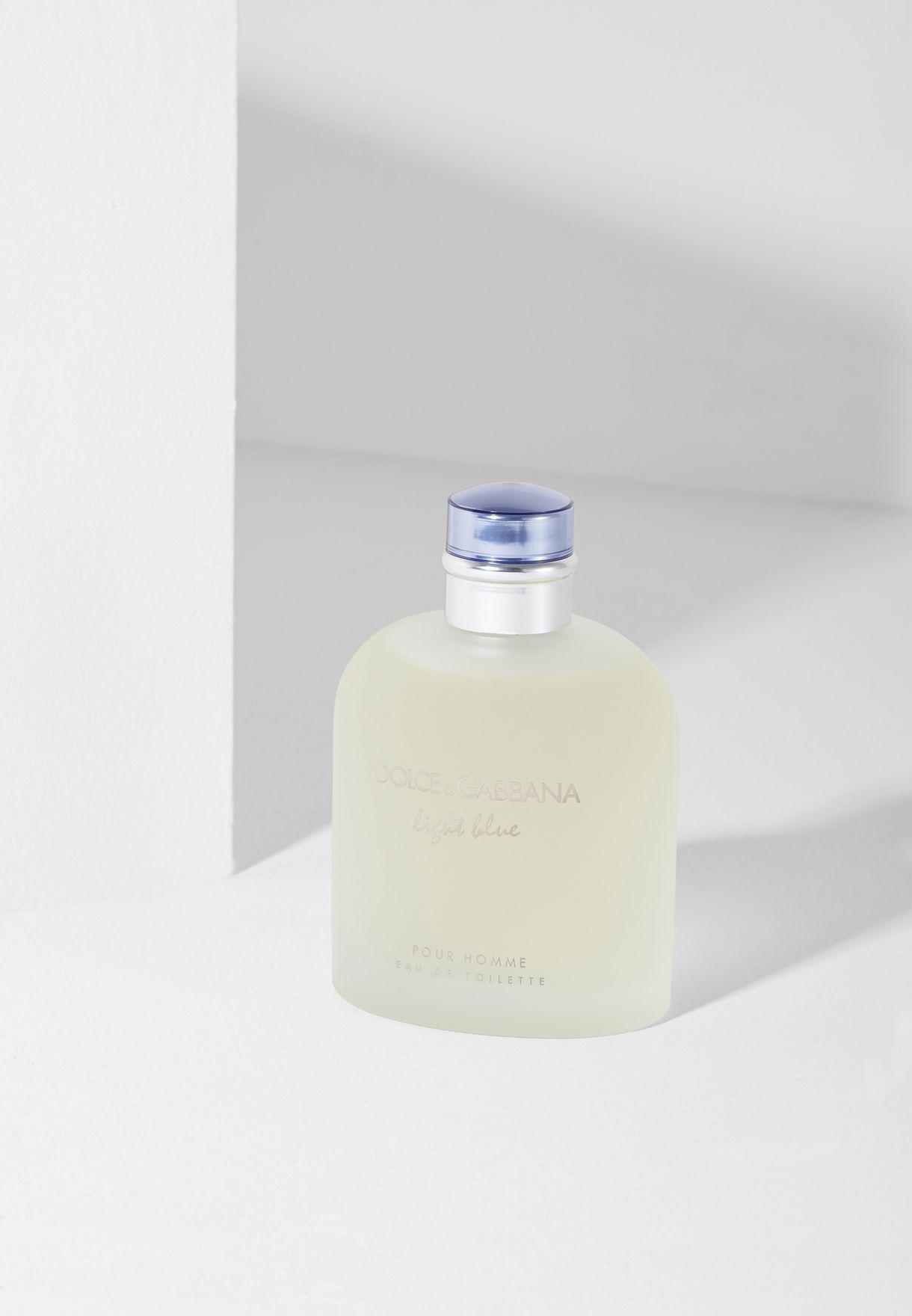 30b6457ff24 Shop Dolce   Gabbana clear Light Blue Pour Homme -200Ml Edt 737052872018  for Men in Kuwait - DO738AC72TPZ