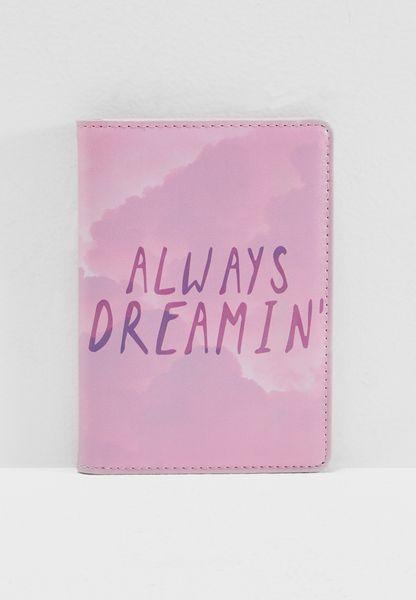 Always Dreaming Passport Holder