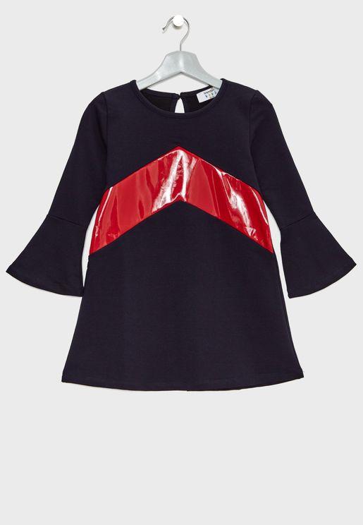 Little Color Block Dress