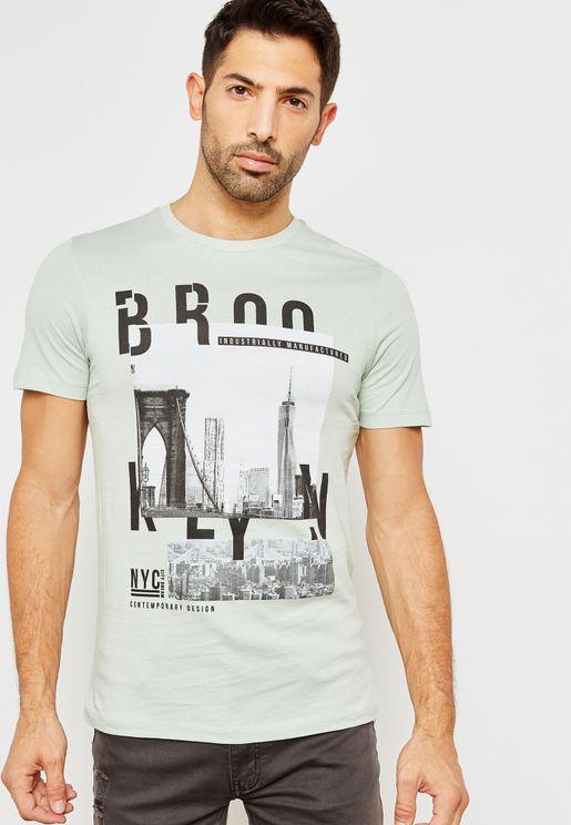 Inner City Crew Neck T-Shirt