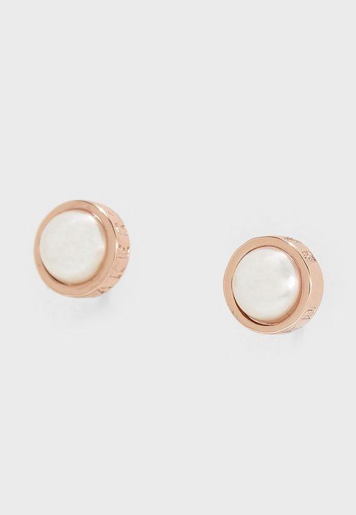 Sinaa Pearl Stud Earrings