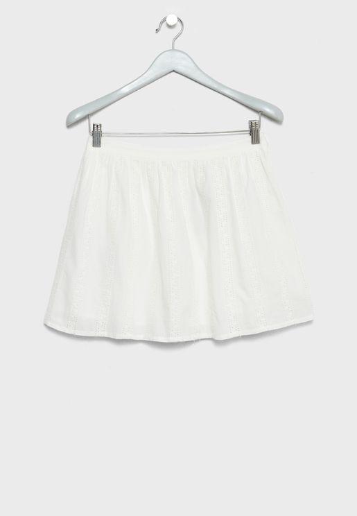 Little Eyelet Skirt