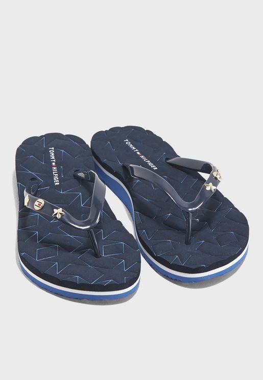c3636ae6edcc Star Beach Sandal. PREMIUM. Tommy Hilfiger