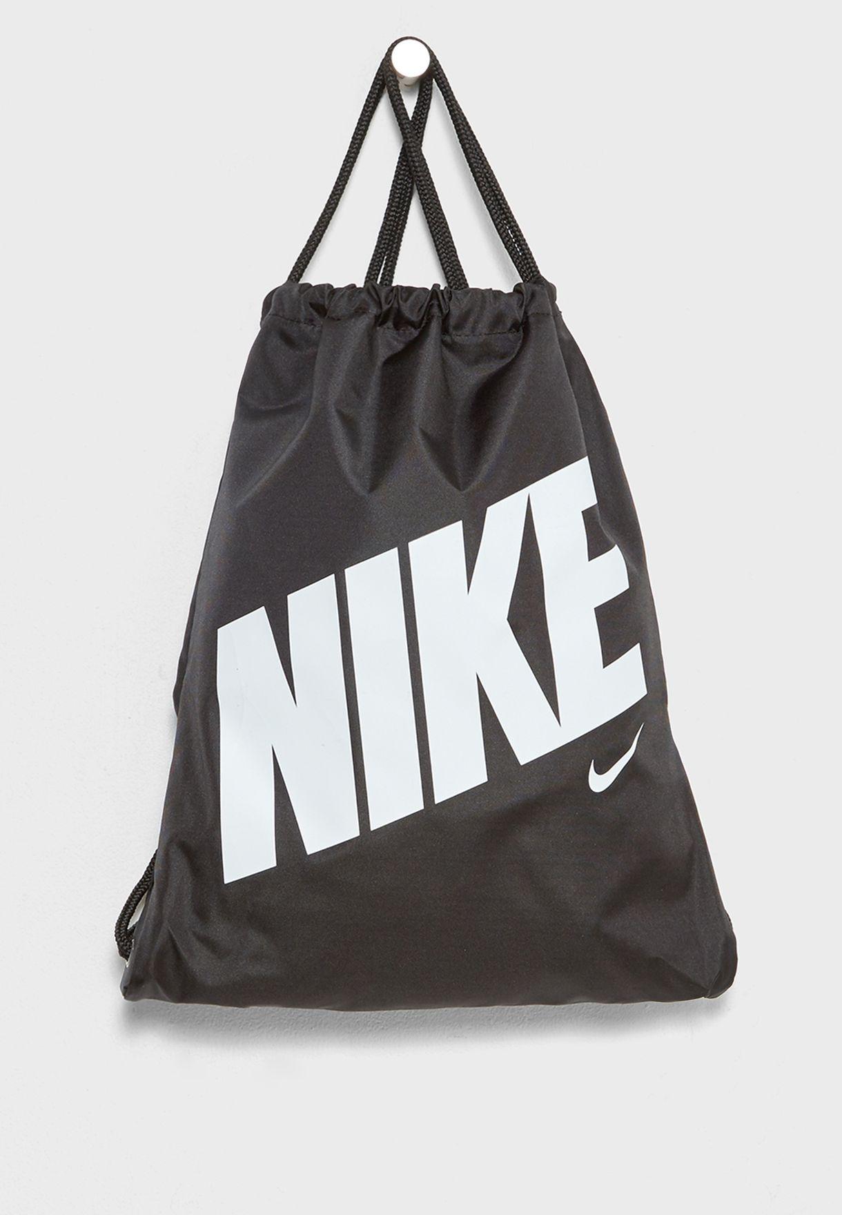 Conmemorativo pájaro Que agradable  Buy Nike black Logo Gymsack for Kids in MENA, Worldwide | BA5262-015