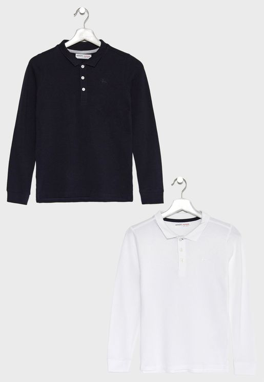 Teen 2 Pack Essential Polos