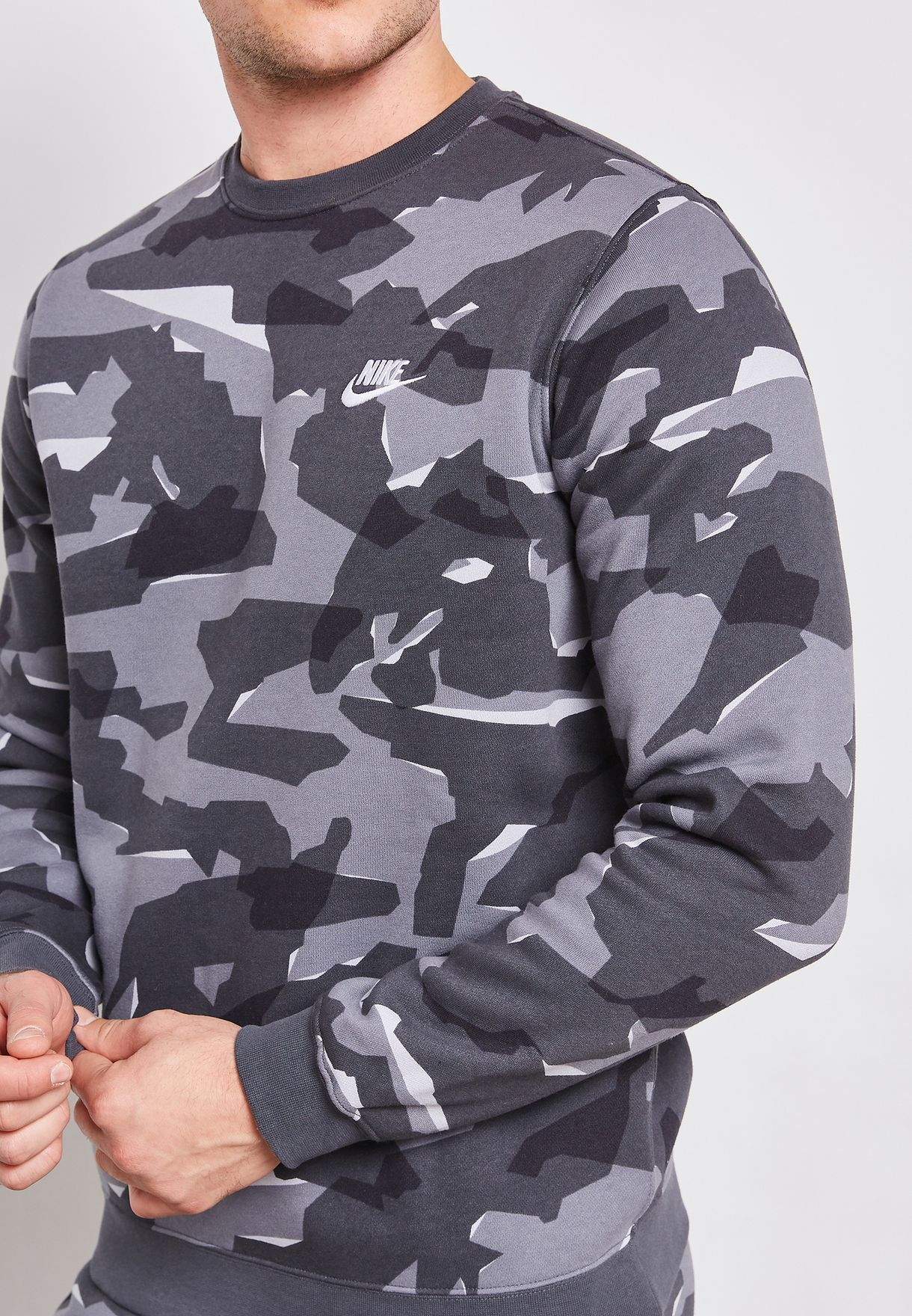 NSW Club Camo Sweatshirt