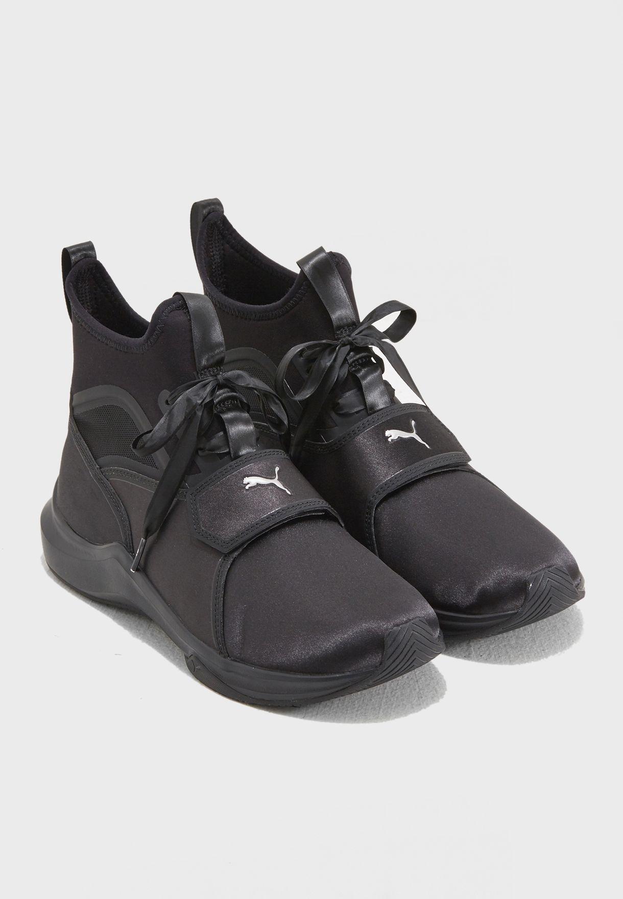 a54ff2a8b68369 Shop PUMA black En Pointe Phenom Satin 19051901 for Women in UAE ...