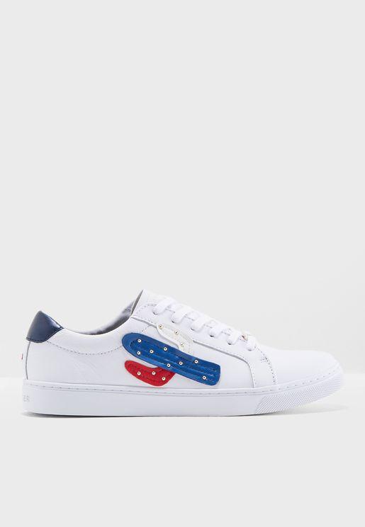 10acc9347 Embelish Essential Sneaker. PREMIUM. Tommy Hilfiger. Embelish Essential  Sneaker