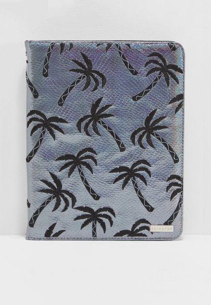 Mini Palm Shimmer ipad Case